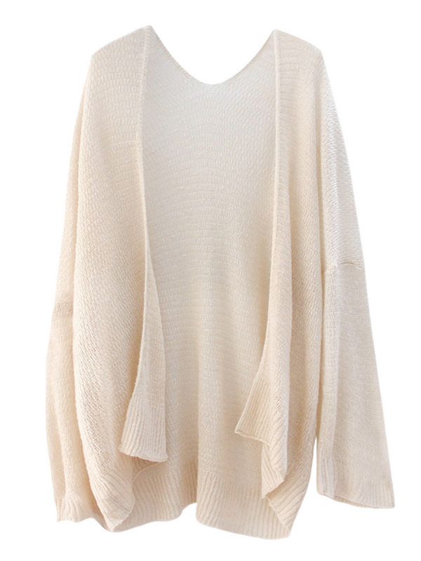 'Julianna' Knit Open Cardigan (2 Colors)