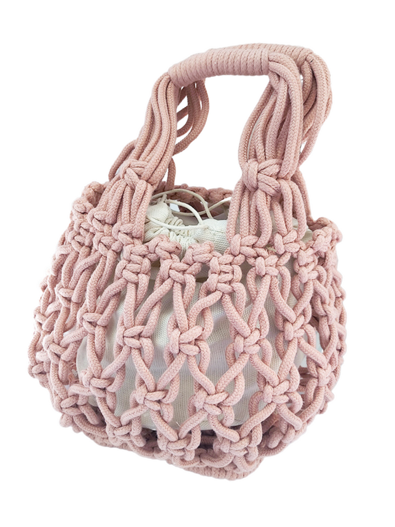 'Jaclyn' Net Braided Handbag (5 Colors)