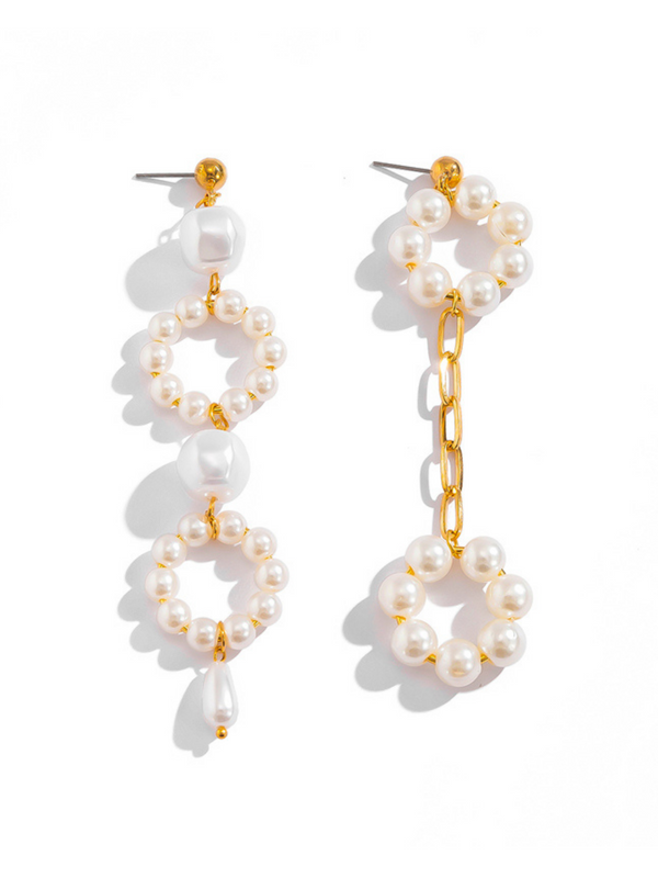 'Vitaliia' Pearl Drop Earrings