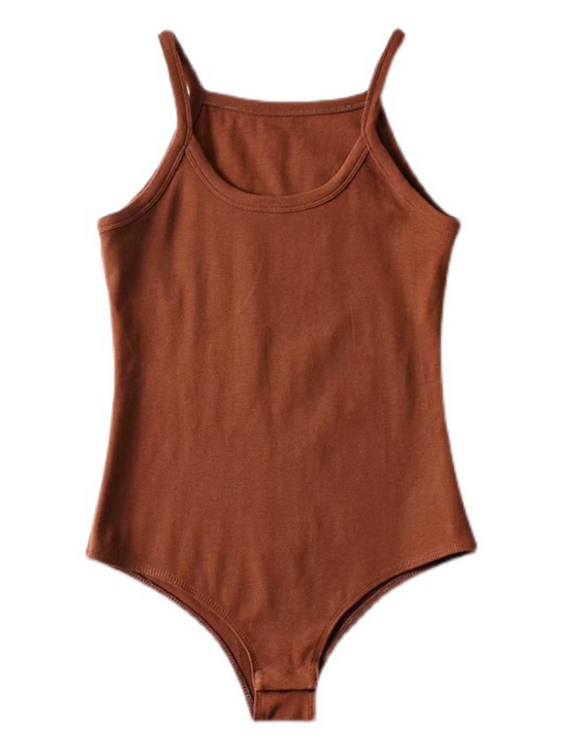 'Merissa' Casual Bodysuit (4 Colors)