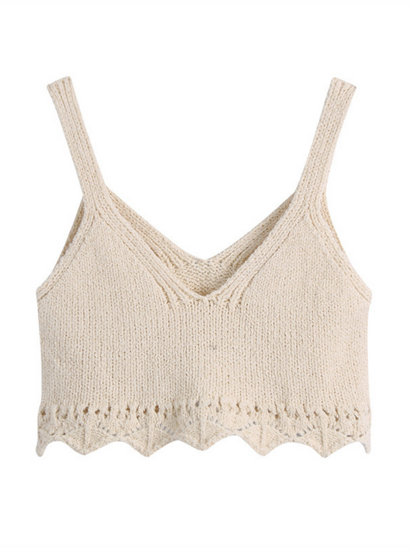 'Lena' Crochet Lace Cami Top