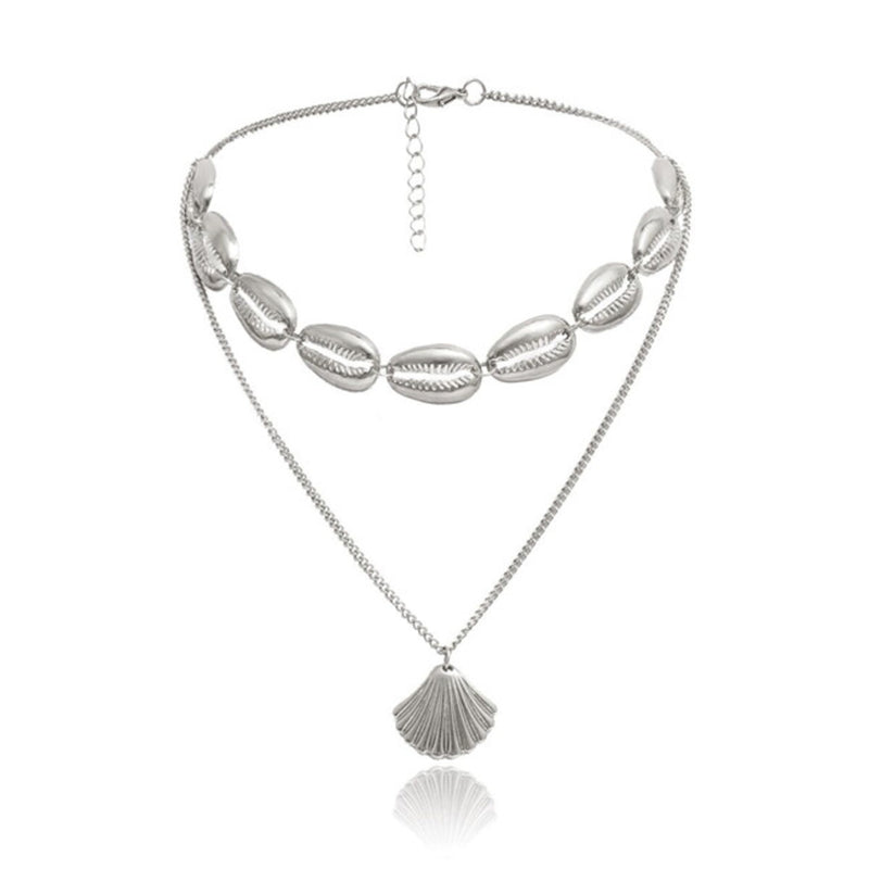 'Pandora' Layered Necklace (2 Colors)