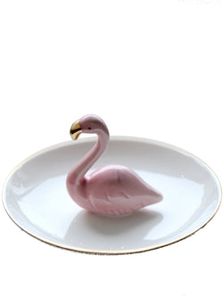 'Fionna' Flamingo Jewellery Holder