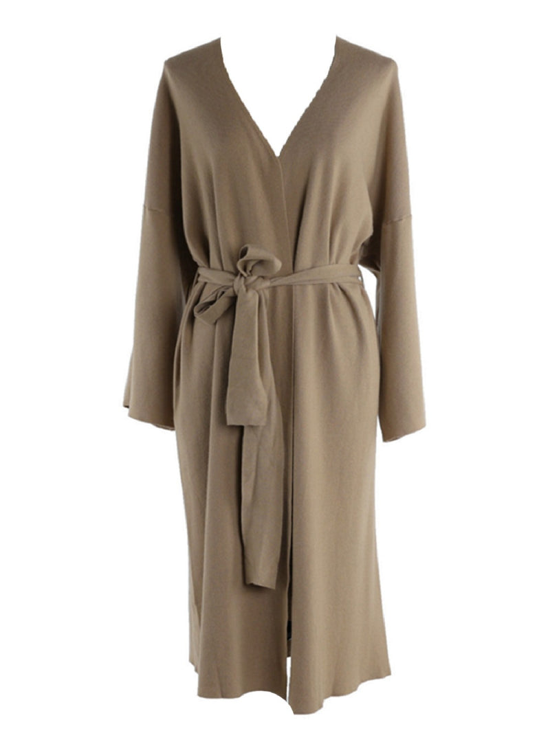 'Lisa' Soft Belted Long Cardigan (2 Colors)