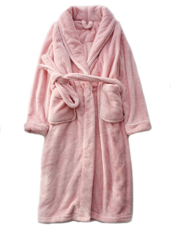 'Mandy' Soft Cosy Bathrobe (3 Colors)