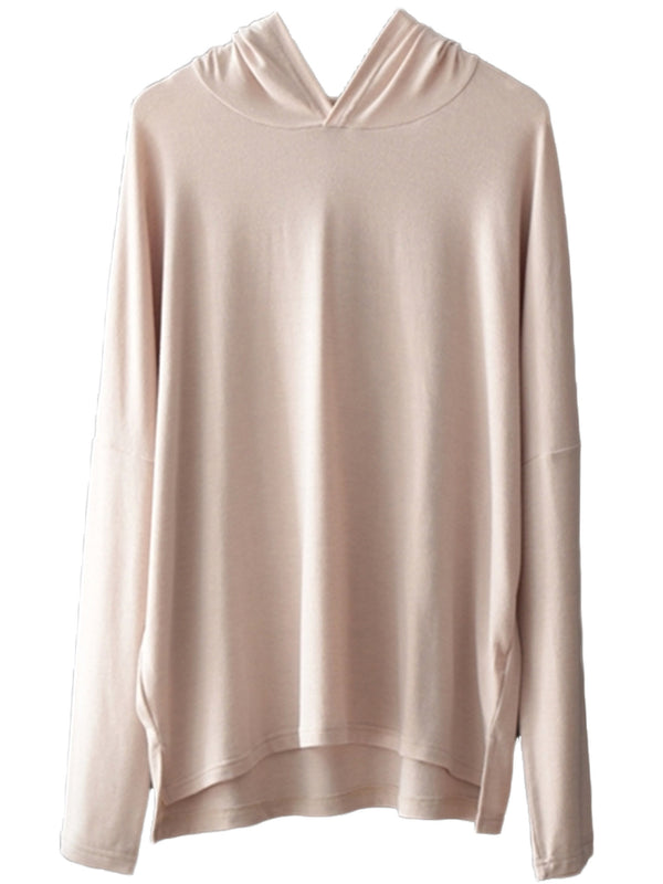 'Isabella' Super Soft Relaxed Hooded Top (3 Colors)