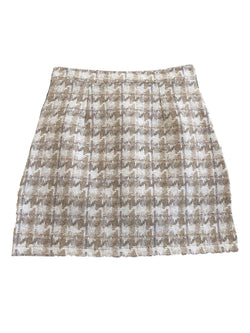 'Ivanna' Houndstooth Mini Skirt (2 Colors)
