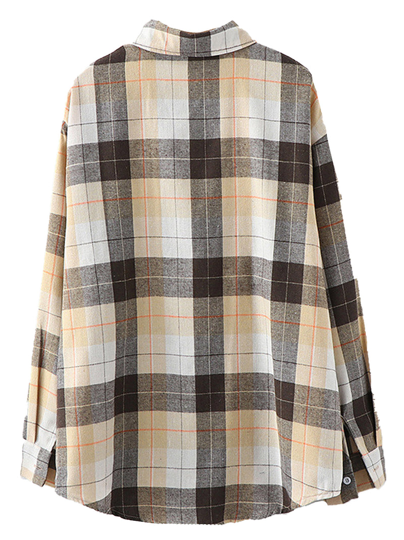 'Joey' Plaid shirt with Pocket (2 Colors)