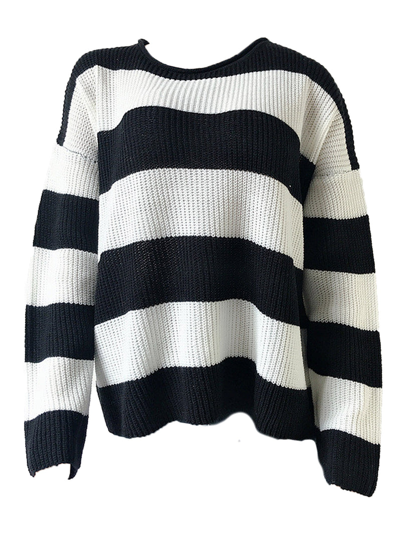 'Makayla' Striped Sweater (3 Colors)