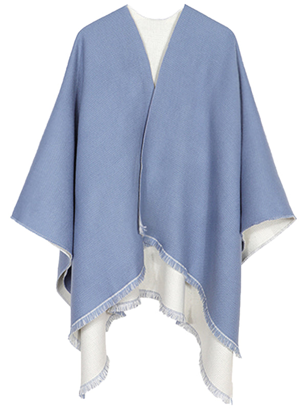 'Allyson' Two-sided Soft Big Scarf (4 Colors)