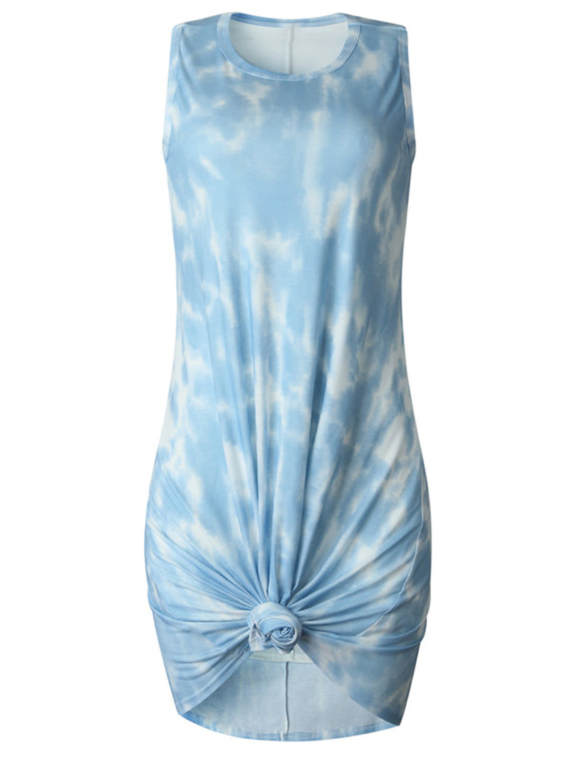 'Yara' Tie Dye Sleeveless Mini Dress (5 Colors)