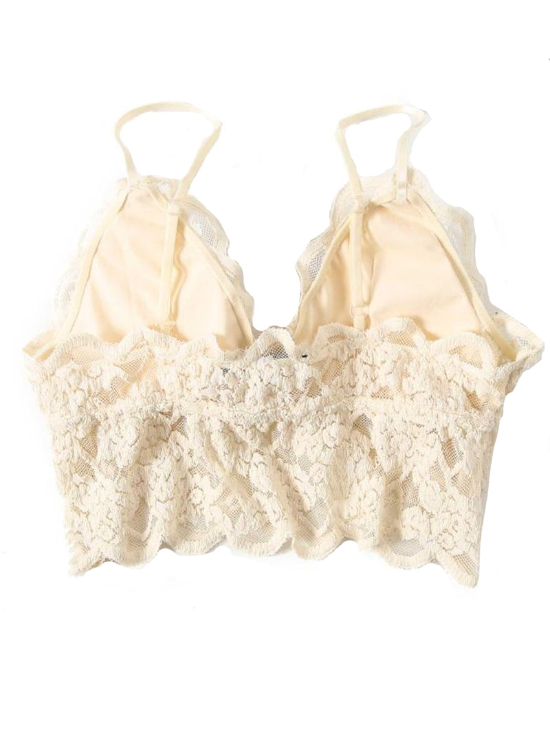 'Liliana' Lace Padded Bralette (2 Colors)
