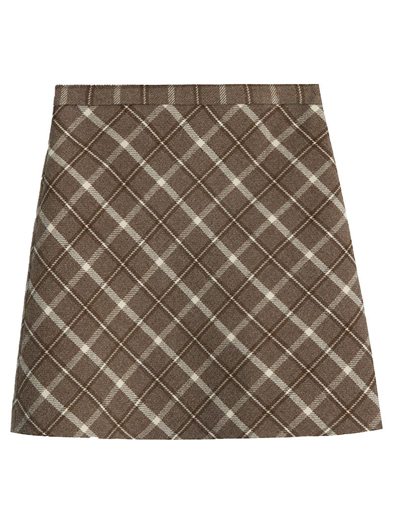 'Coco' Plaid Mini Skirt (3 Colors)