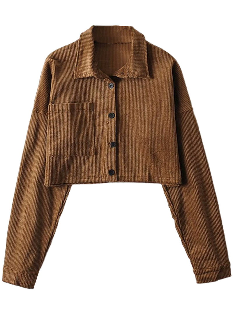 'Joey' Corduroy Jacket / Skirt Co-ord (4 Colors)