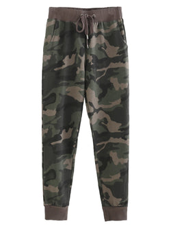 'Skylar' Camouflage Sweat Pants