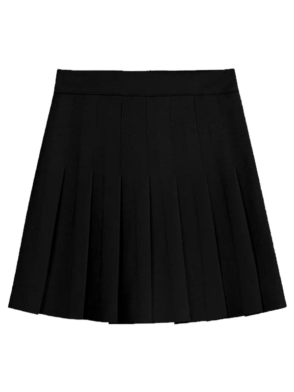 'Clara' Pleated Mini Skirt (2 Colors)
