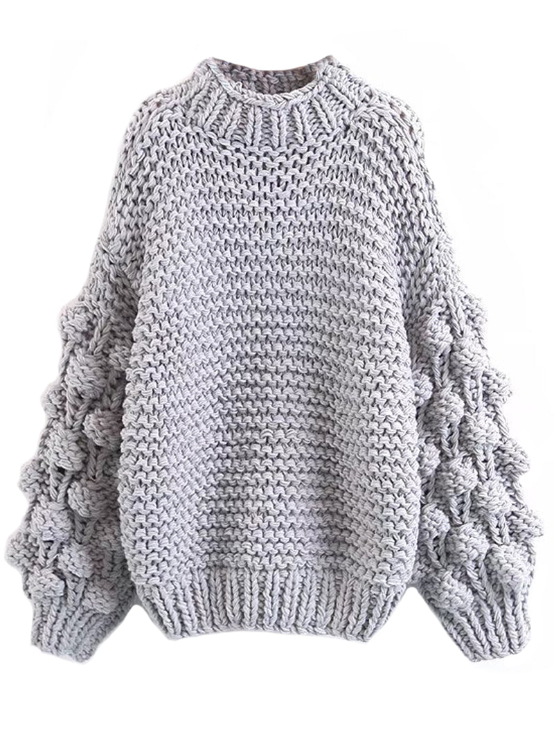 'Clora' Pom Pom Sweater (3 Colors)