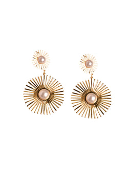'Hayley' Festive Pearl Earrings