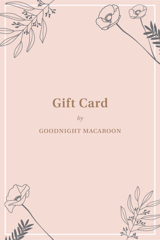 Gift Card - Goodnight Macaroon