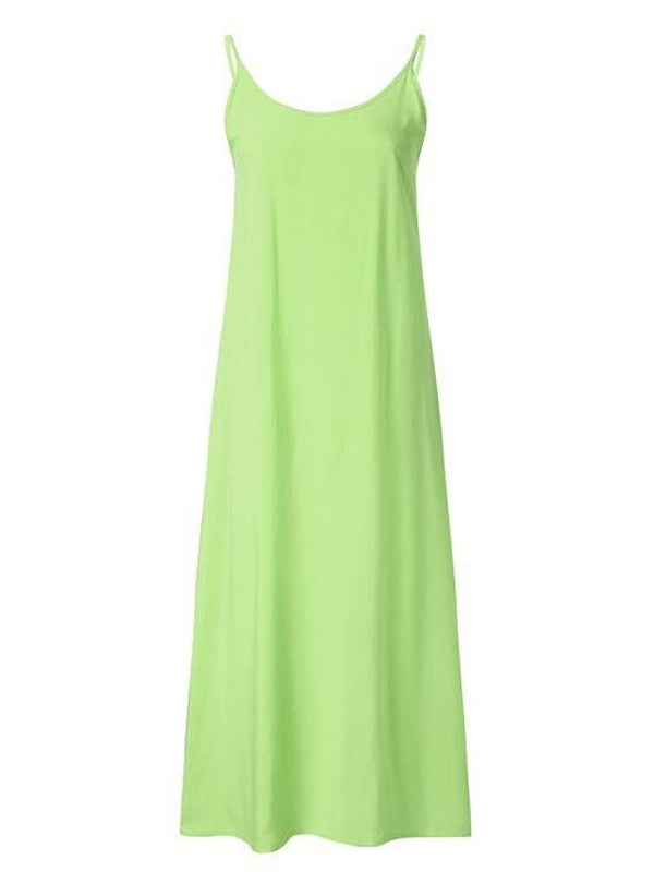 'Lammy' Slip Maxi Dress (4 Colors)
