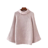 'Sarah' Bell Sleeved Turtleneck Sweater - 3 Beautiful Colors