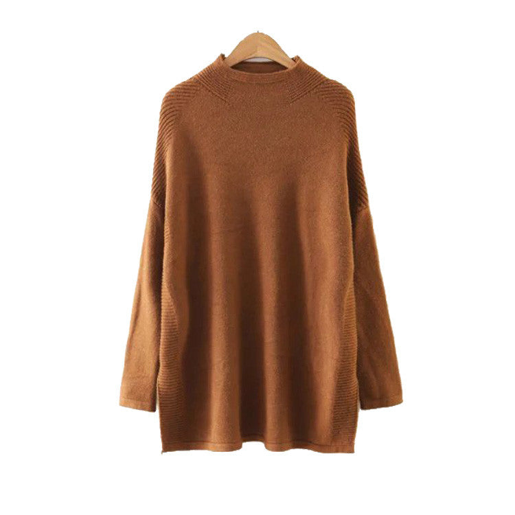 'Aspen' High Neck Soft Sweater