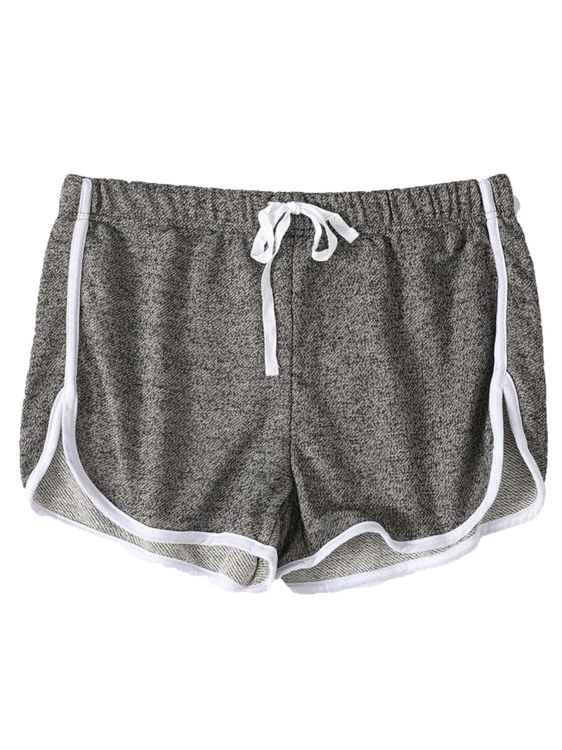 'Maisy' Comfy Sports Piping Shorts (4 Colors)
