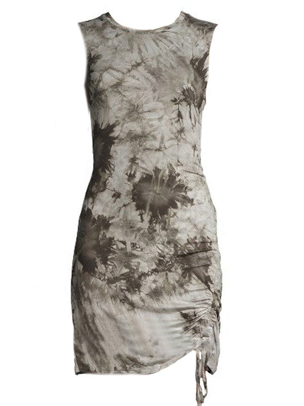'Kennedy' Tie Dye Tank Bodycon Mini Dress (2 Colors)