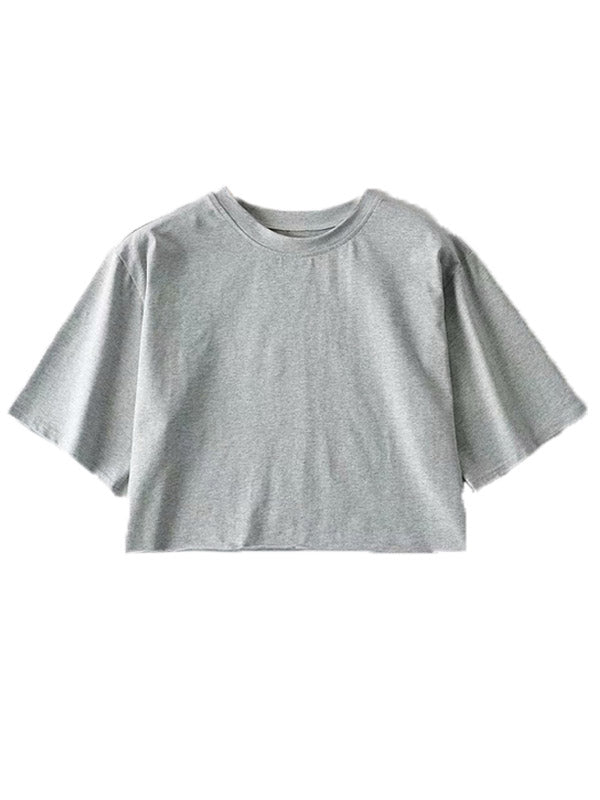 'Jessie' Comfy Cropped T-shirt (5 Colors)