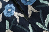 Embroidered Skirt goodnight macaroon blue floral