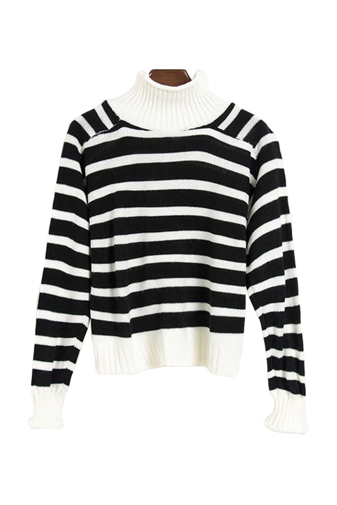Pink / Black stripe sweater