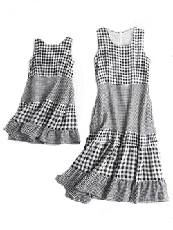 'Reagan' Mother & Daughter Matching Gingham Dress (2 Colors)