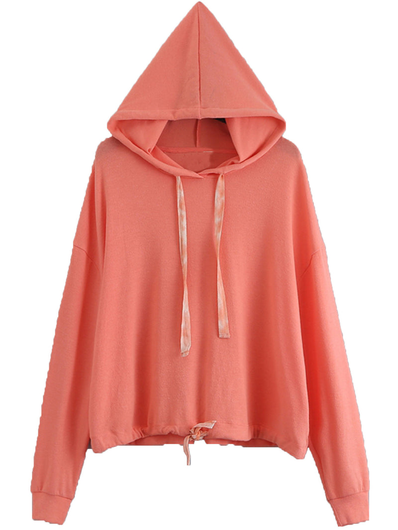 'Connie' Soft Tie Hem Hoodie (4 Colors)