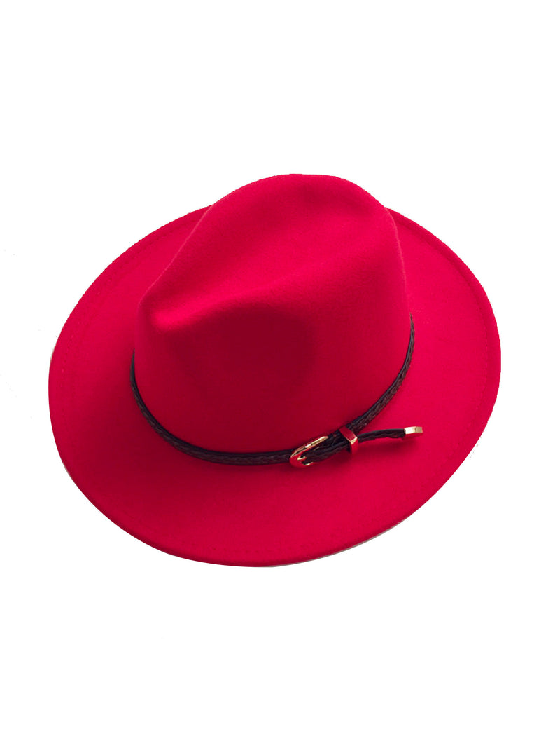 'Panny' Wool Felt Fedora Hat (9 Colors)