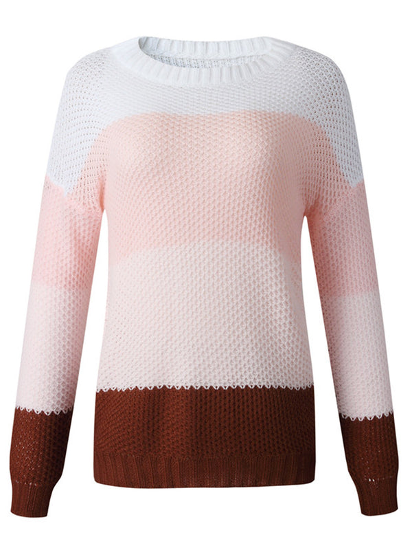 'Veronica' Colorblock Sweater (4 Colors)