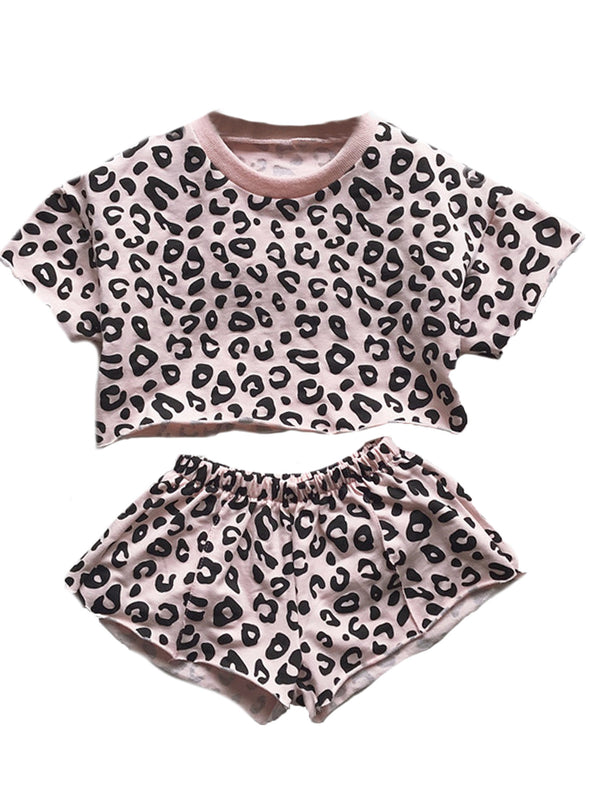 'Jade' Baby Leopard Print Set (4 Colors)