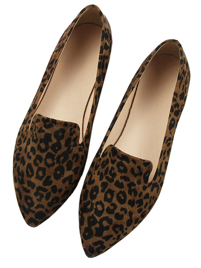 'Laurel' Leopard Loafers