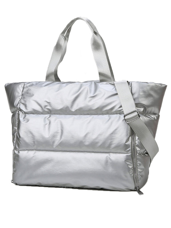 'Jayda' Large Puffy Gym Bag (3 Colors)