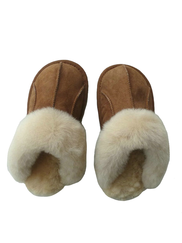 'Alyssa' Furry Slippers