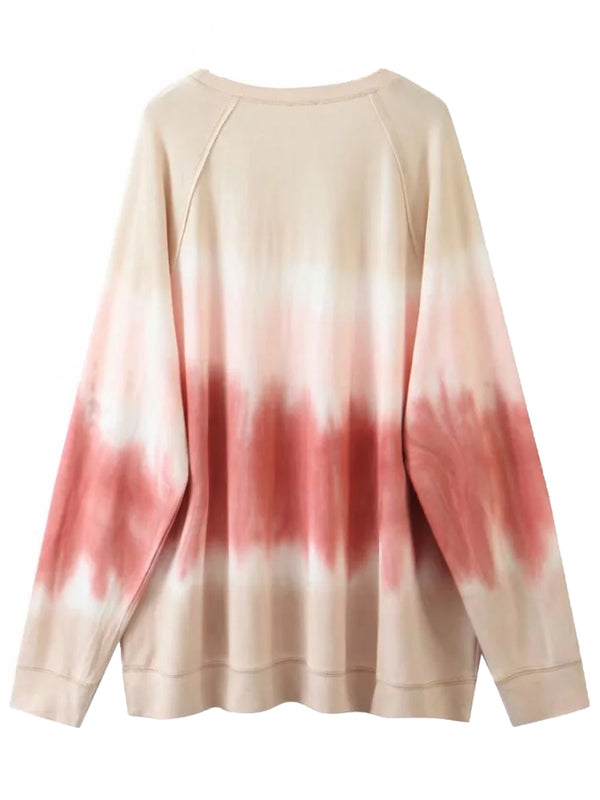 'Tabitha' Tie Dye Long Sleeve Sweatshirt