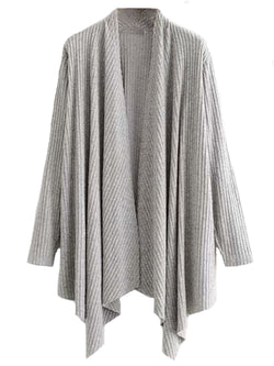 'Jennifer' Soft Waterfall Open Cardigan