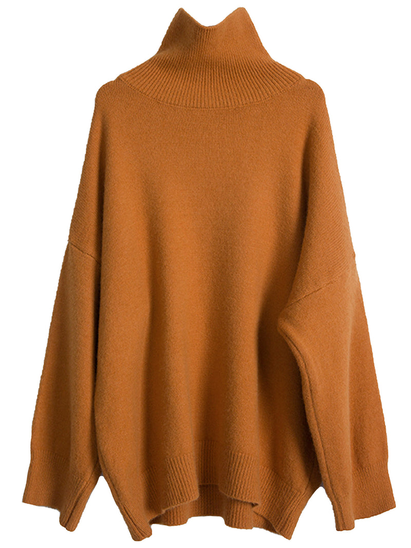 'Imogen' Oversized High Neck Sweater (3 Colors)