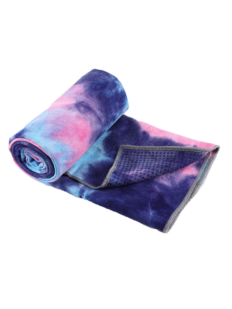 Tie Dye Effect Yoga Towel