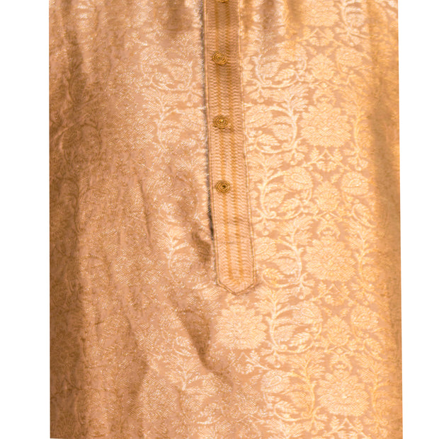 Gold Kurta with matching gold pants