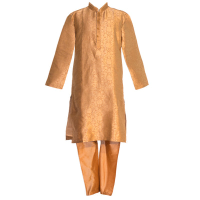 Gold Kurta with matching pants