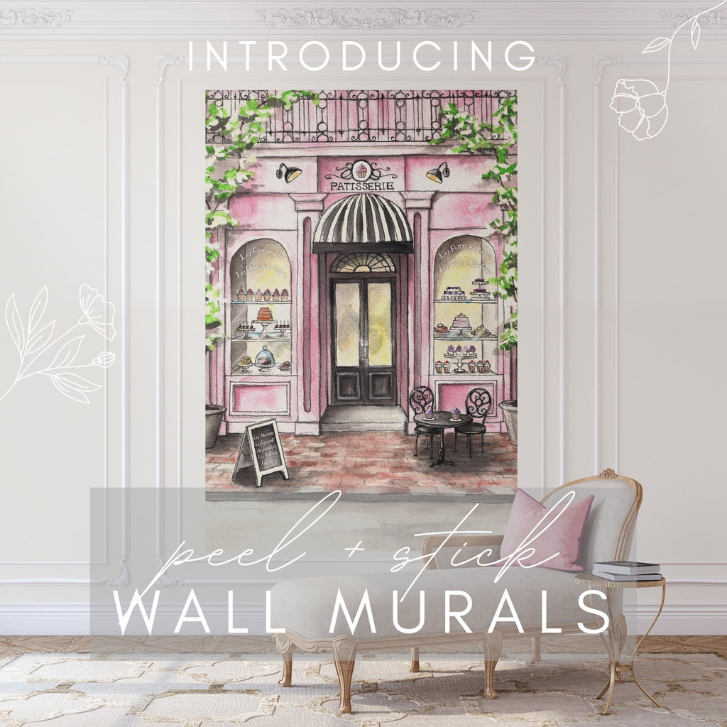 Introducing Peel and Stick Wall Murals | Melissa Colson