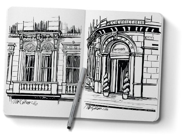Sketches from Scotland | Melissa Colson