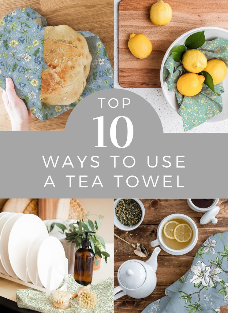 Top 10 Ways to Use a Tea Towel | Melissa Colson