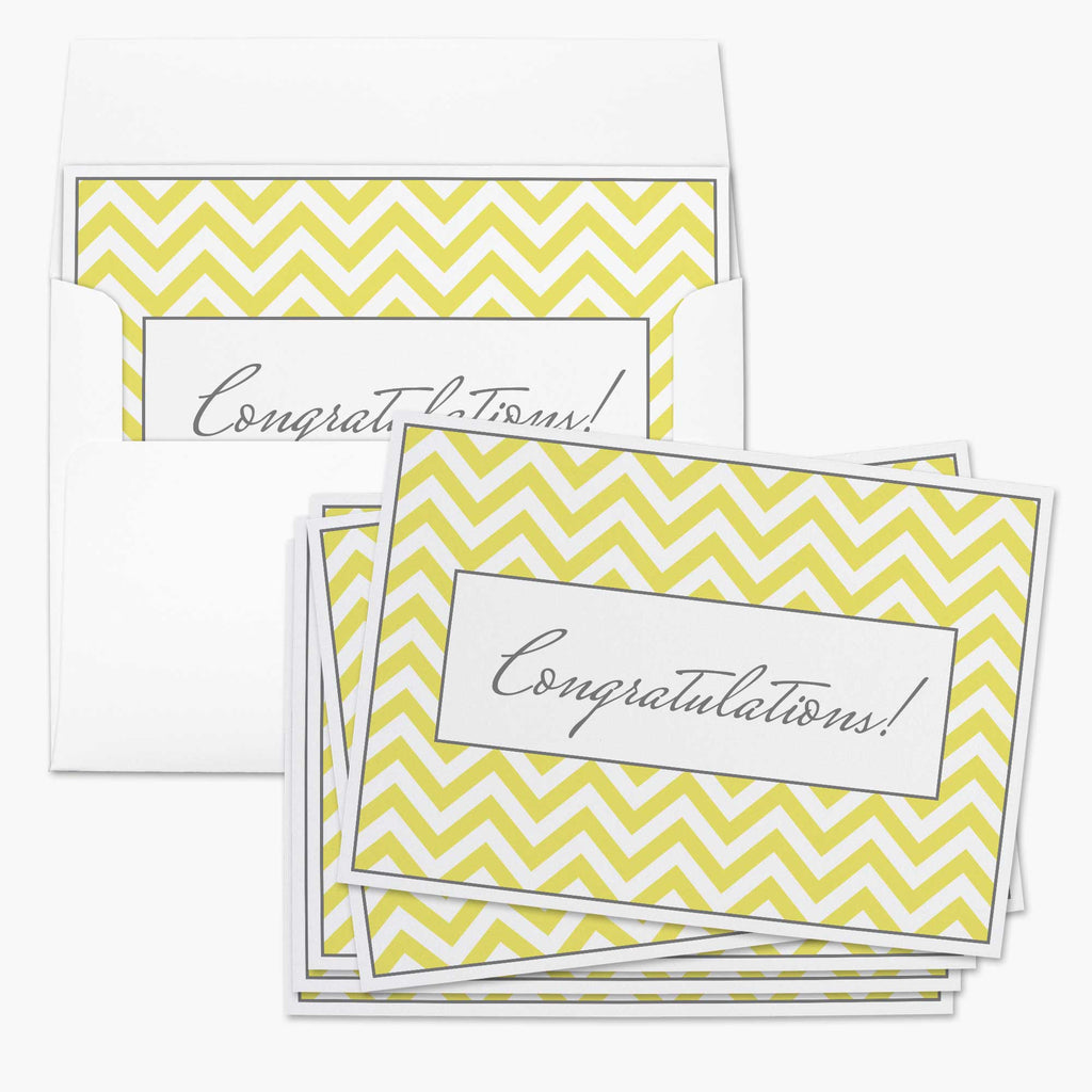 Chevron Congratulations Card