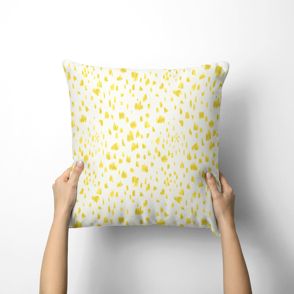 Dashes Pillow Cover in Illuminating